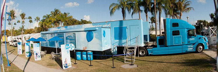 Double Sided Expandable Trailer For Experiential Marketing